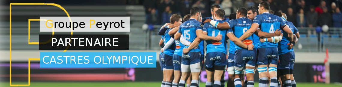 Concession Slider Groupe Peyrot Castres Olympique
