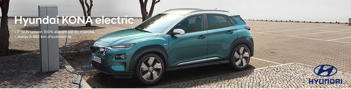 Concession HYUNDAI KONA ELECTRIC