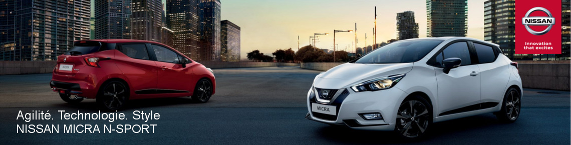 Concession NISSAN MICRA N SPORT
