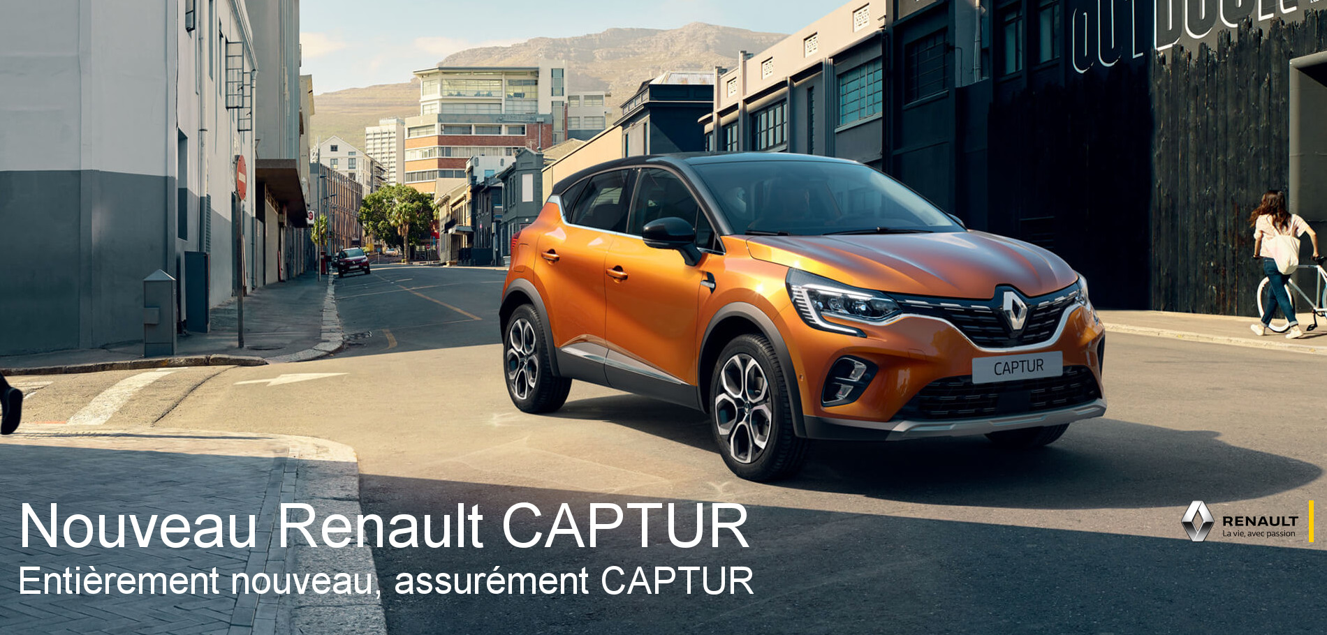 Concession NOUVEAU RENAULT CAPTUR