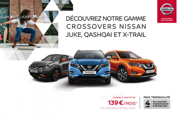 Les Crossovers NISSAN